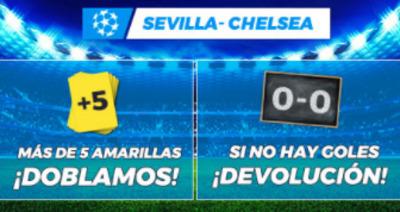 Haz tus apuestas en el Sevilla-Chelsea con Pastón.es