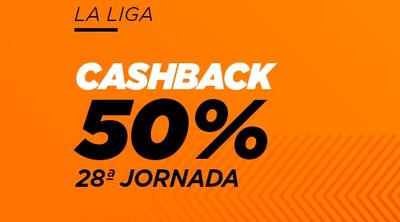 Haz tus apuestas de la jornada 28 de la Liga con Kirolbet y recupera hasta 10€ si empatan a 0