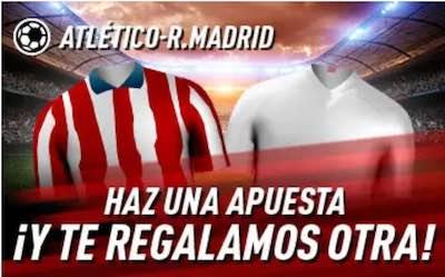 Juega en Sportium Apuestas al Derbi entre Atletico y Real Madrid y llévate una apuesta gratis
