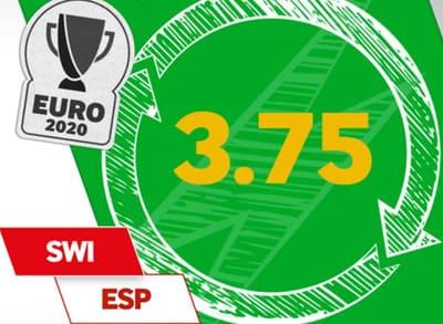 Excelente cuota a que España gana a Suiza y Ferran Torres marca gol