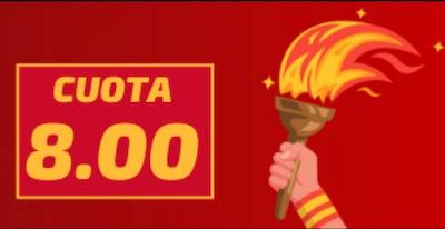 Betfred ofrece cuotas de 8.00 a que España gana medallas en Tokio 2020 en fútbol y baloncesto en Betfred.