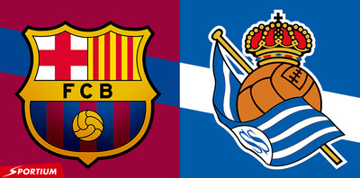 Descubre el favorito de Sportium según sus cuotas en el Barcelona Real Sociedad y cuales son las especiales
